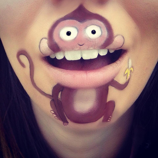funny-face-paintings-Cartoon-Characters (7)