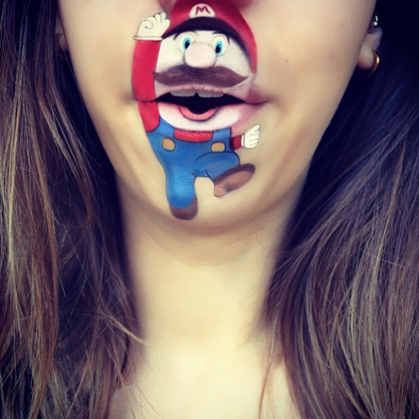 funny-face-paintings-Cartoon-Characters (8)