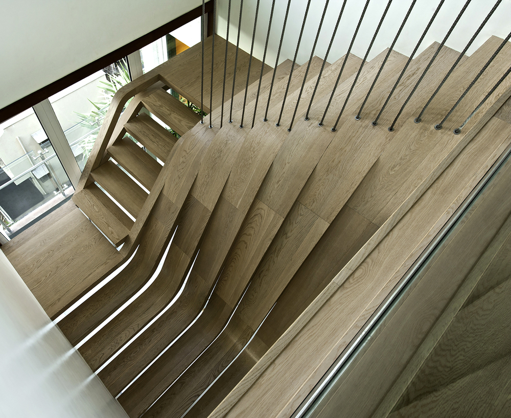20 coolest staircase designs that will reinvent and for Pre built stairs interior