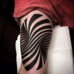 List of surprising 3D optical illusion tattoos