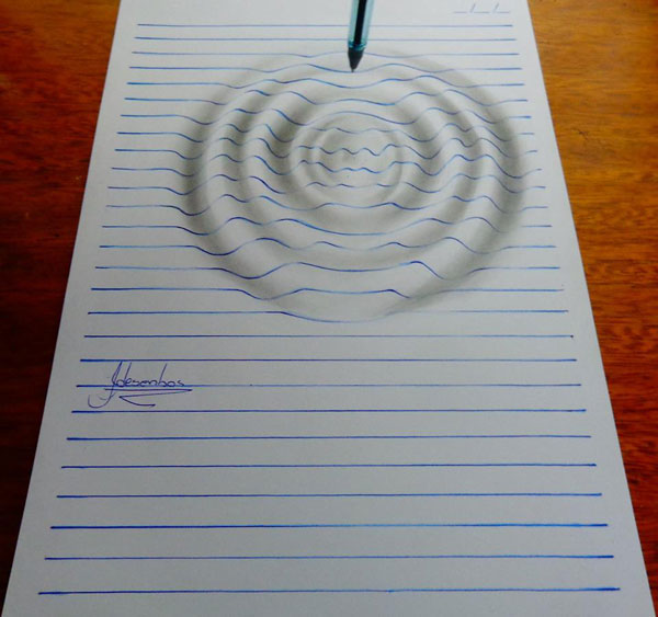 funny-3d-line-drawings-doodles-notepad-art (3)