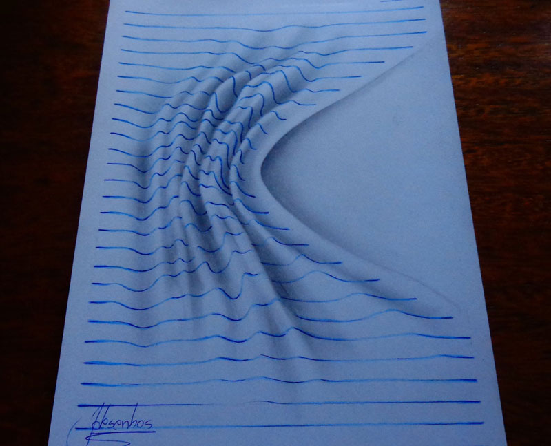 funny-3d-line-drawings-doodles-notepad-art (4)