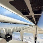 Windowless jet with a panoramic view of the skies around the aircraft in 10 years