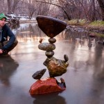 "Amazing gravity-defying stone balancing art looks like magic – Gravity is the only ""Glue"" to hold these rocks in equilibrium"