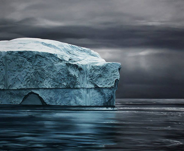 finger-drawing-glacier-iceberg-photorealistic-paintings (2)