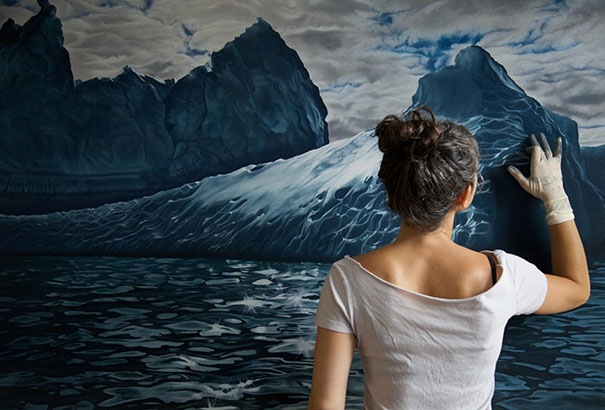 finger-drawing-glacier-iceberg-photorealistic-paintings (3)