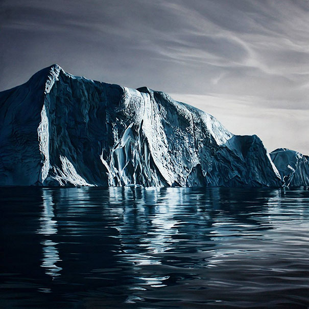 finger-drawing-glacier-iceberg-photorealistic-paintings (6)