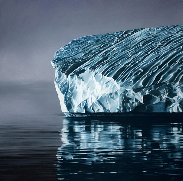 finger-drawing-glacier-iceberg-photorealistic-paintings