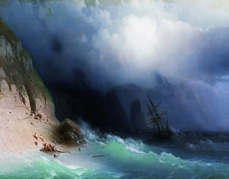 amazing-beautiful-stunning-sea-waves-classical-19th-paintings (2)