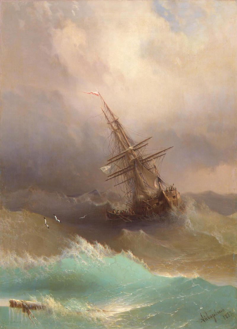 amazing-beautiful-stunning-sea-waves-classical-19th-paintings (8)