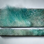 Exploring wind and water influence through 3D glass sculptures