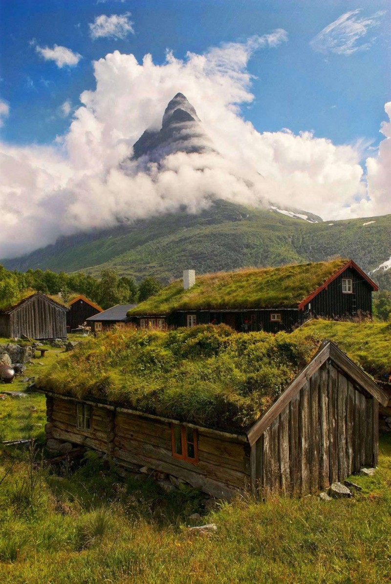 Traditional-Norwegian-architecture-fairy-tale-wooden-houses-Europe-style-buildings (5)
