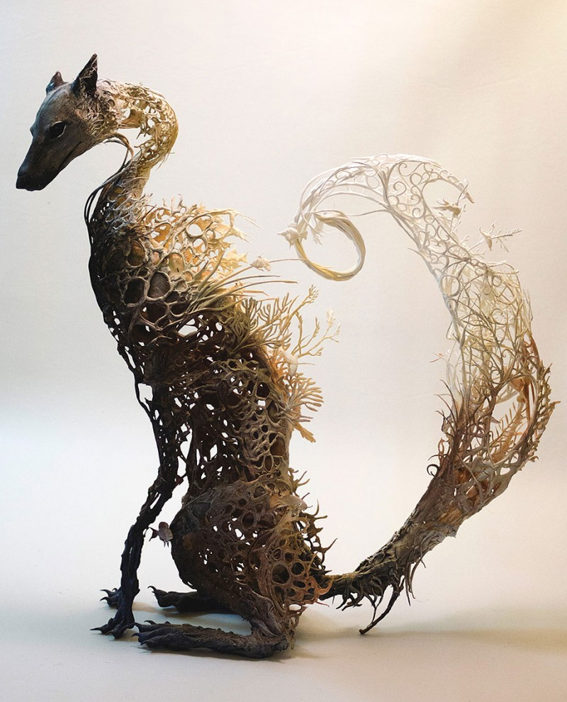 amazing-fantasy-animal-plant-fusion-clay-sculpture (1)