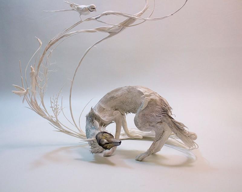 amazing-fantasy-animal-plant-fusion-clay-sculpture (15)