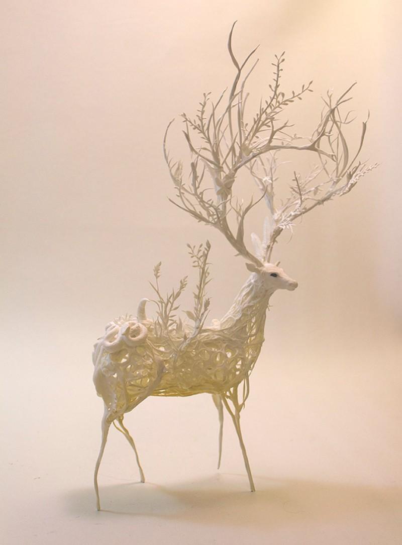 amazing-fantasy-animal-plant-fusion-clay-sculpture (16)