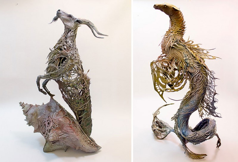amazing-fantasy-animal-plant-fusion-clay-sculpture (20)