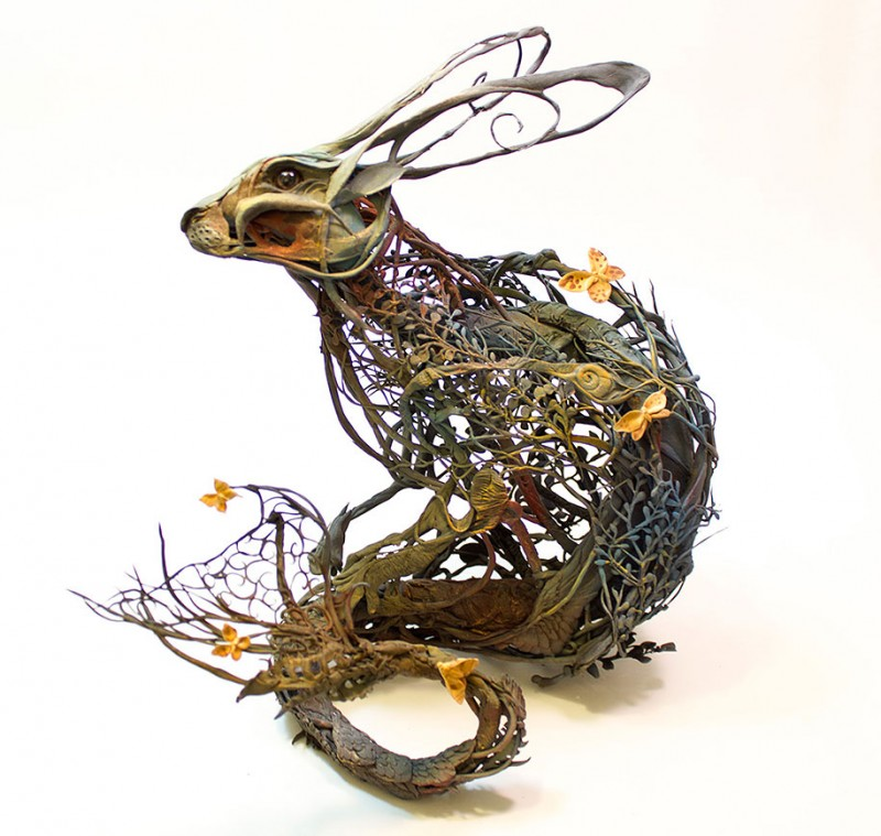 amazing-fantasy-animal-plant-fusion-clay-sculpture (4)