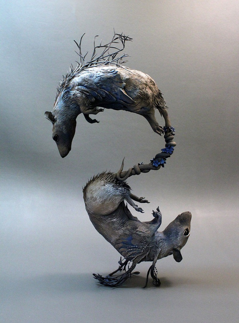 amazing-fantasy-animal-plant-fusion-clay-sculpture (5)