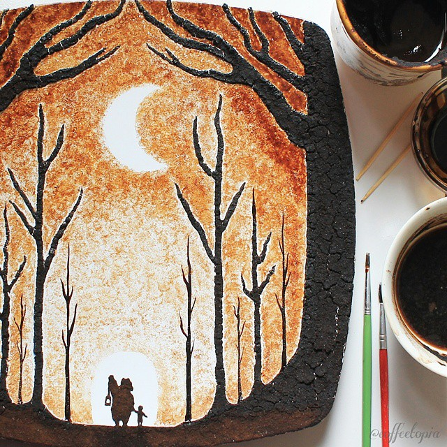beautiful-coffee-painting-leaf-art (3)
