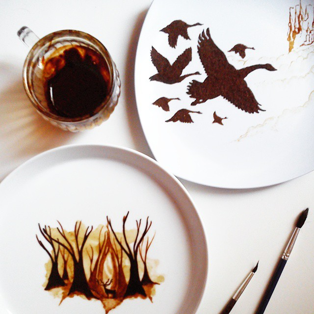 beautiful-coffee-painting-leaf-art (8)