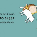 Sleep related Doodles that people who love to sleep can understand