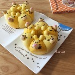 3D character bread too adorable to eat