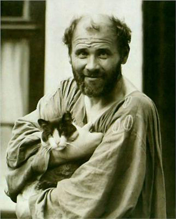 portraits-famous-artists-and-cats-photos (13)