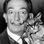 Funny selection of famous artists photographed with their feline friends