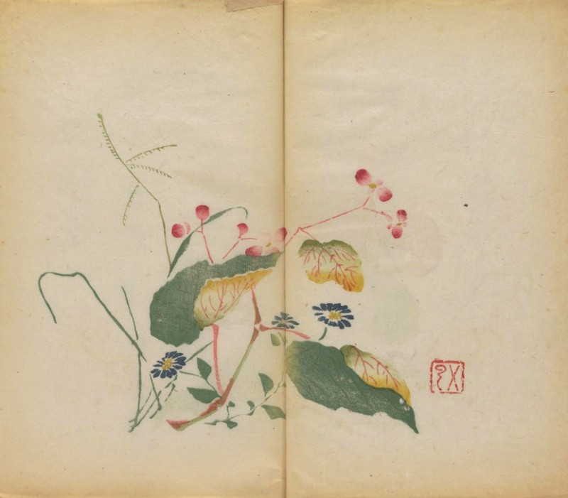 world-oldest-Calligraphy-Painting-coloured-book (8)