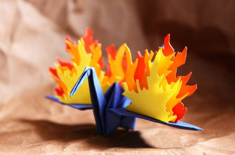 beautiful-origami-crane-paper-folding-art (12)