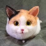 Cute cat hand bags come popular in Japan