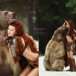 Stunningly Fairy-Tale Scenes With REAL Animals By Russian Photographer