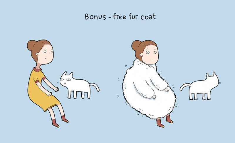 funny-amusing-humorous-comic-illustrations-pluses-benefits-having-cat (4)