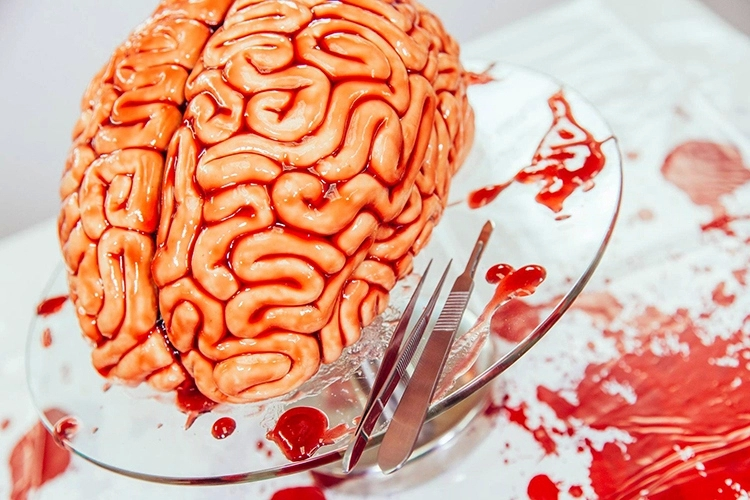 horrified-bizarre-zombies-walking-dead-human-brain-cake-design (4)