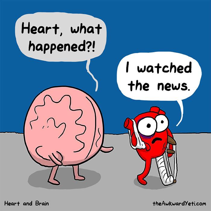 interesting-funny-webcomic-heart-vs-brain-cartoon