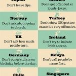 Things travelers shouldn't do in 18 countries
