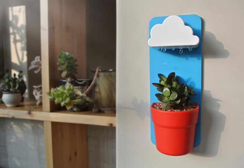 wall-mount-indoor-rainy-pot-cloud-raindrops-planter (3)