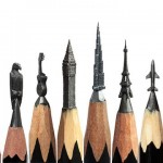 Fragile and tiny work of art – Miniature sculptures of pencil tip