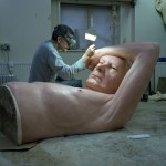 Amazingly photo realistic human sculptures