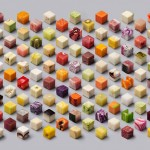 Perfect food cubes for perfectionists