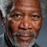 Hyper realistic finger-drawn portrait of Morgan Freeman done by Procreate app on an iPad Air