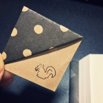 Simple paper folding technique to create our own origami bookmarks