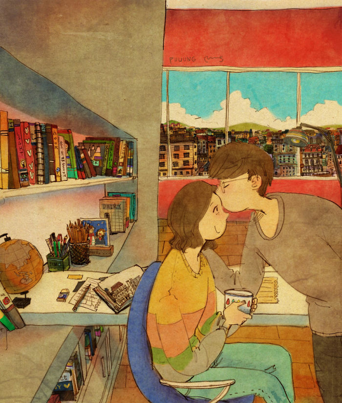 adorable-sweet-couple-romantic-love-illustrations-drawings (10)