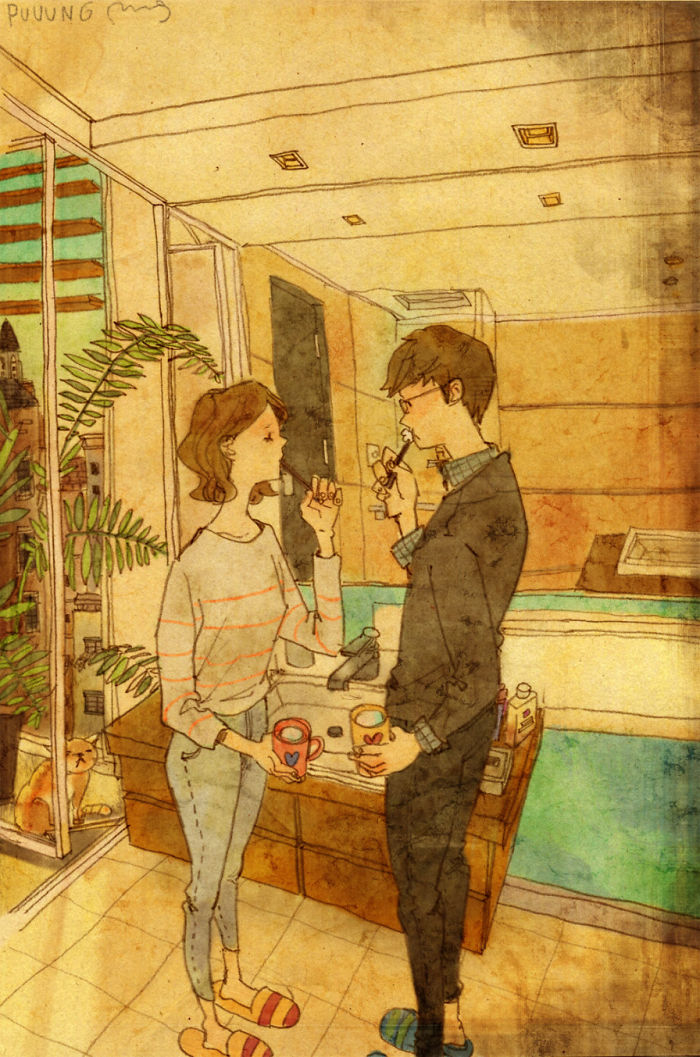 adorable-sweet-couple-romantic-love-illustrations-drawings (24)