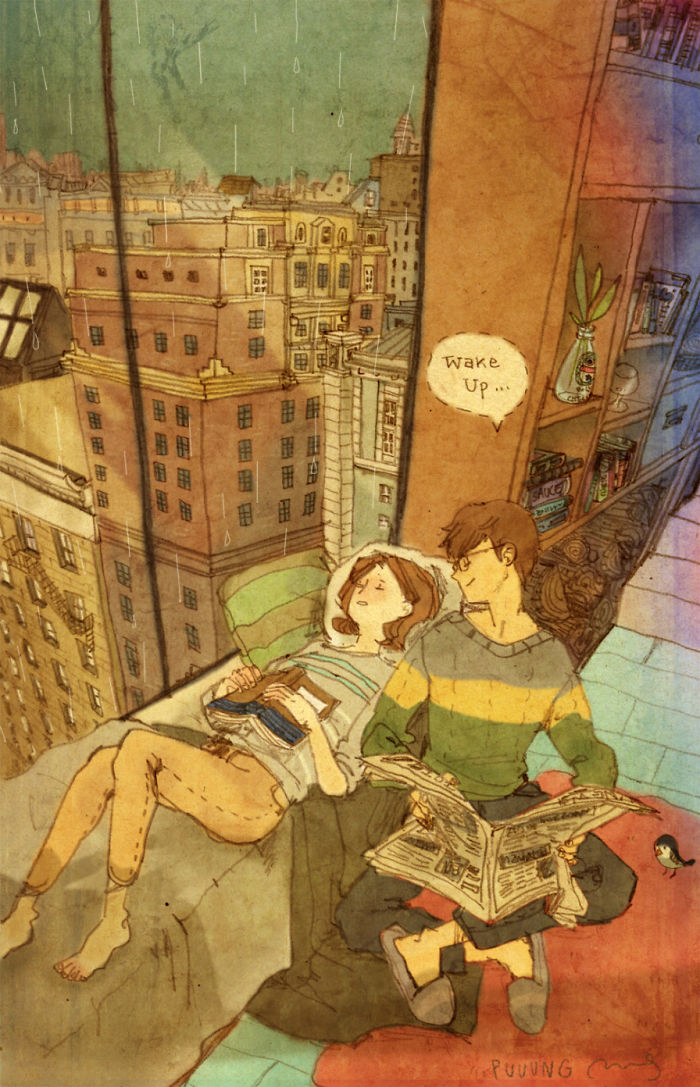 adorable-sweet-couple-romantic-love-illustrations-drawings (25)