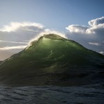 Beauty of waves – Beautiful waves look like mountain summits with snow