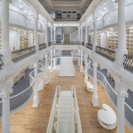 New concept bookstore in Romania looks like a white palace