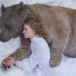 Artistic and fairytale Portraits of beauty and the beast by Russian photographer