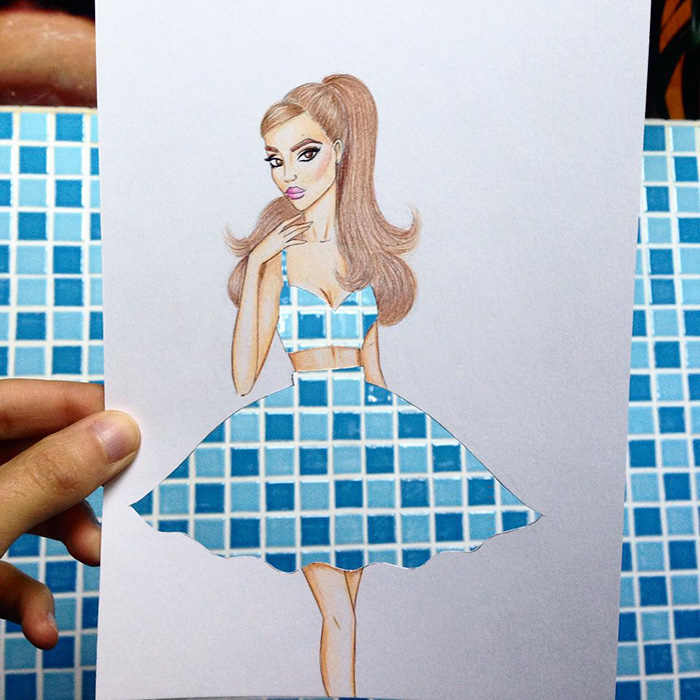 beautiful-fashion-sketches-drawings-paper-cut-out-dresses (11)