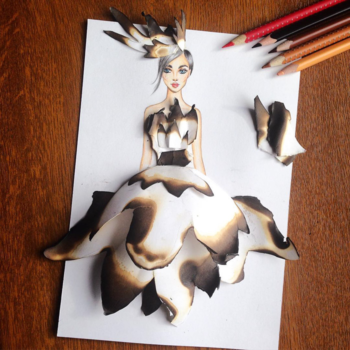 beautiful-fashion-sketches-drawings-paper-cut-out-dresses (13)